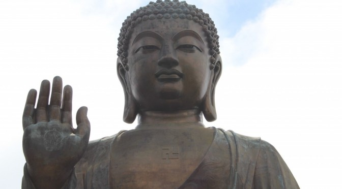Meeting The Big Buddha On Lantau Island