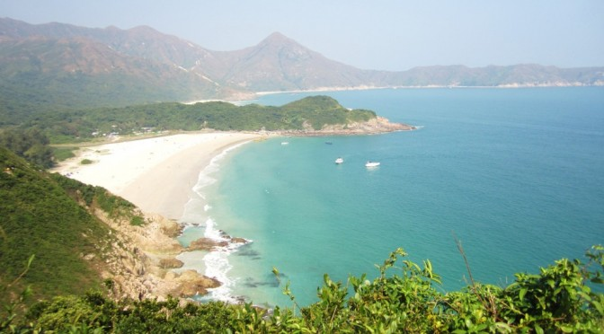Hiking in Hong Kong: Tai Long Wan, Sai Kung