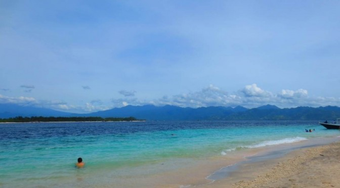 The Beach In Gili Trawangan