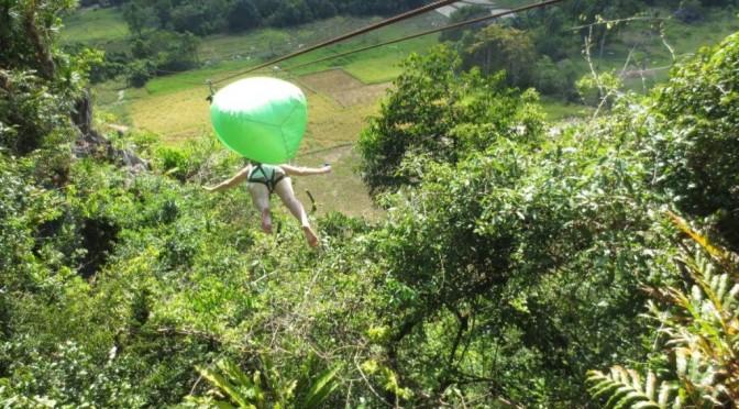 Ugong Rock Caving & Zipline: Puerto Princesa