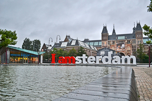 where to find the i amsterdam letters