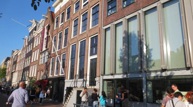 A Visit To The Anne Frank Museum, Amsterdam