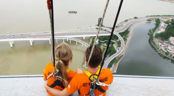 Macau Skywalk And Bungy Jump
