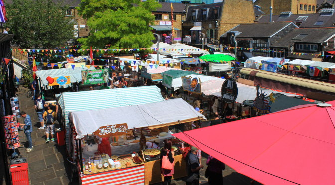 Markets In London – Camden Market & Lock, Borough Market, Spitalfields Market