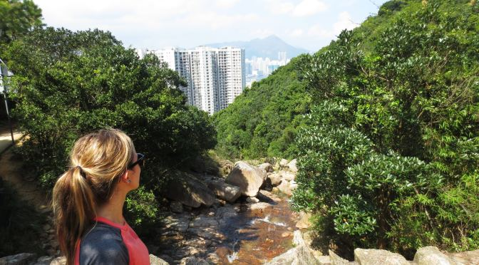 Stream Trekking In Hong Kong