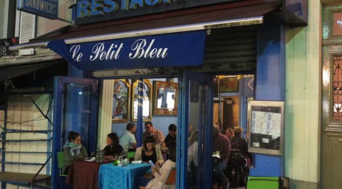 The Best Restaurant In Paris – Le Petit Bleu