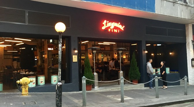 It's Hard To Beat Happy Hour At Linguini Fini, Hong Kong