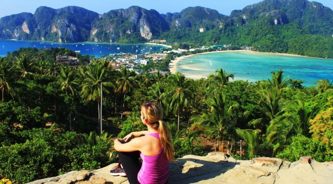 Discovering Phi Phi Island From Up Above: Phi Phi Viewpoint, Thailand