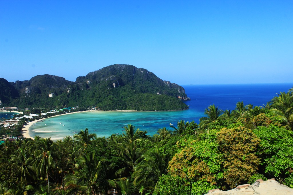 Discovering Phi Phi Island From Up Above: Phi Phi Viewpoint