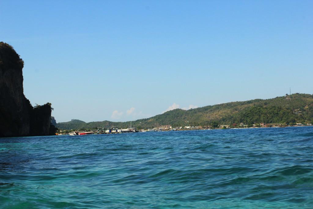 Looking back on Phi Phi Island
