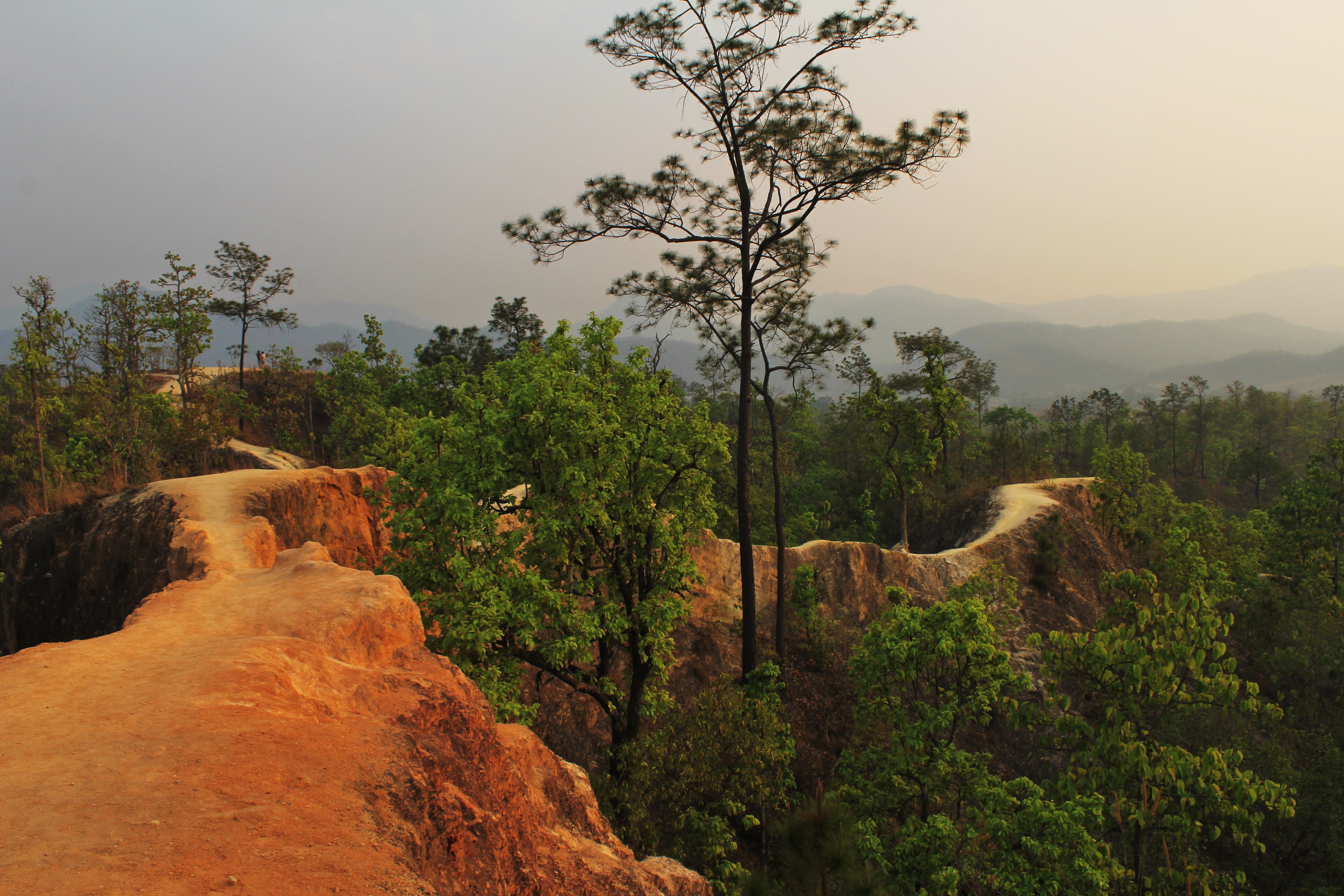 canyons of pai thailand