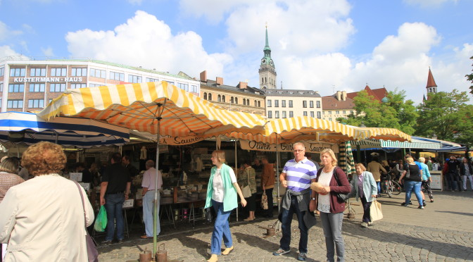 Victuals Market In Munich: A Treat For All Senses