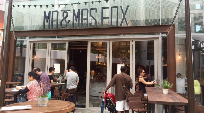 Mr & Mrs Fox: Casual Meets Sophisticated Dining