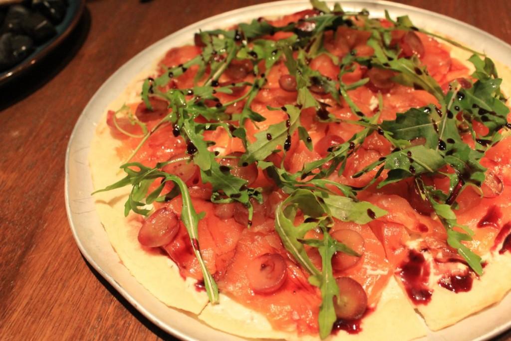 Lily & Bloom - Salmon Flatbread