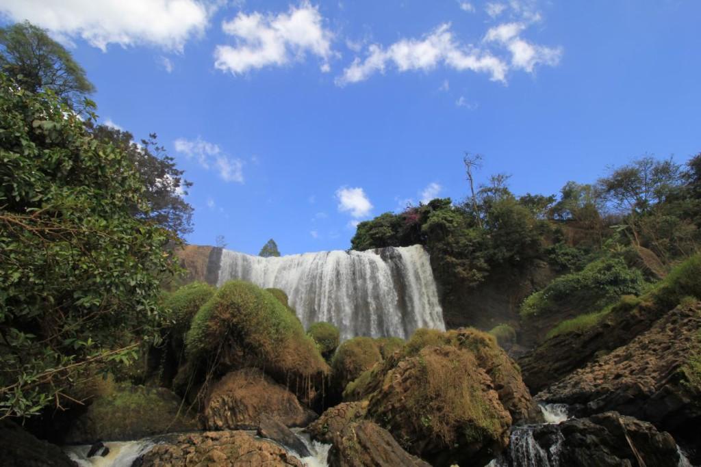 Da Lat elephant waterfalls