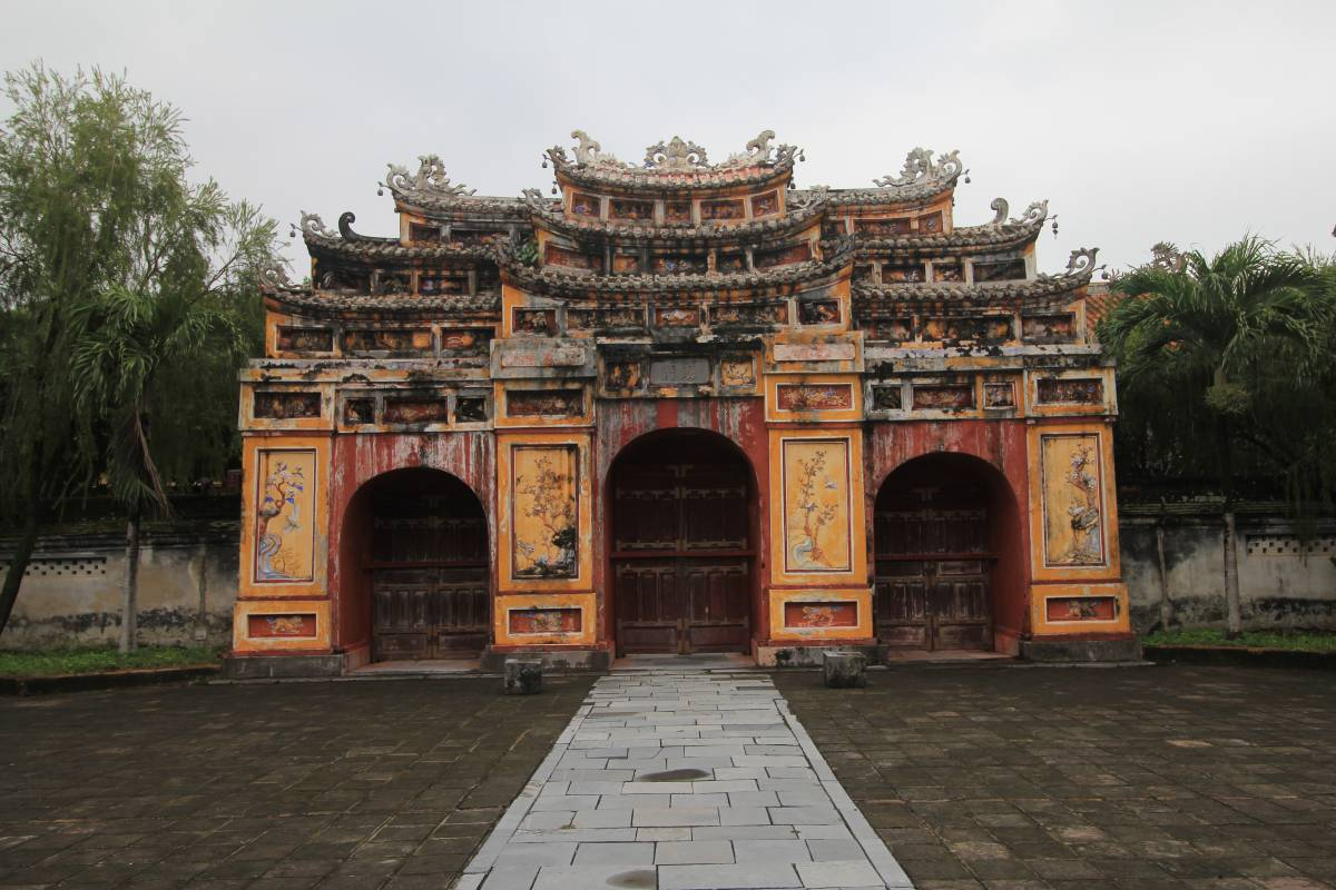 The Imperial City In Hue, Vietnam