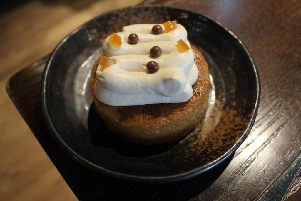 aberdeen street social brunch - carrot cake