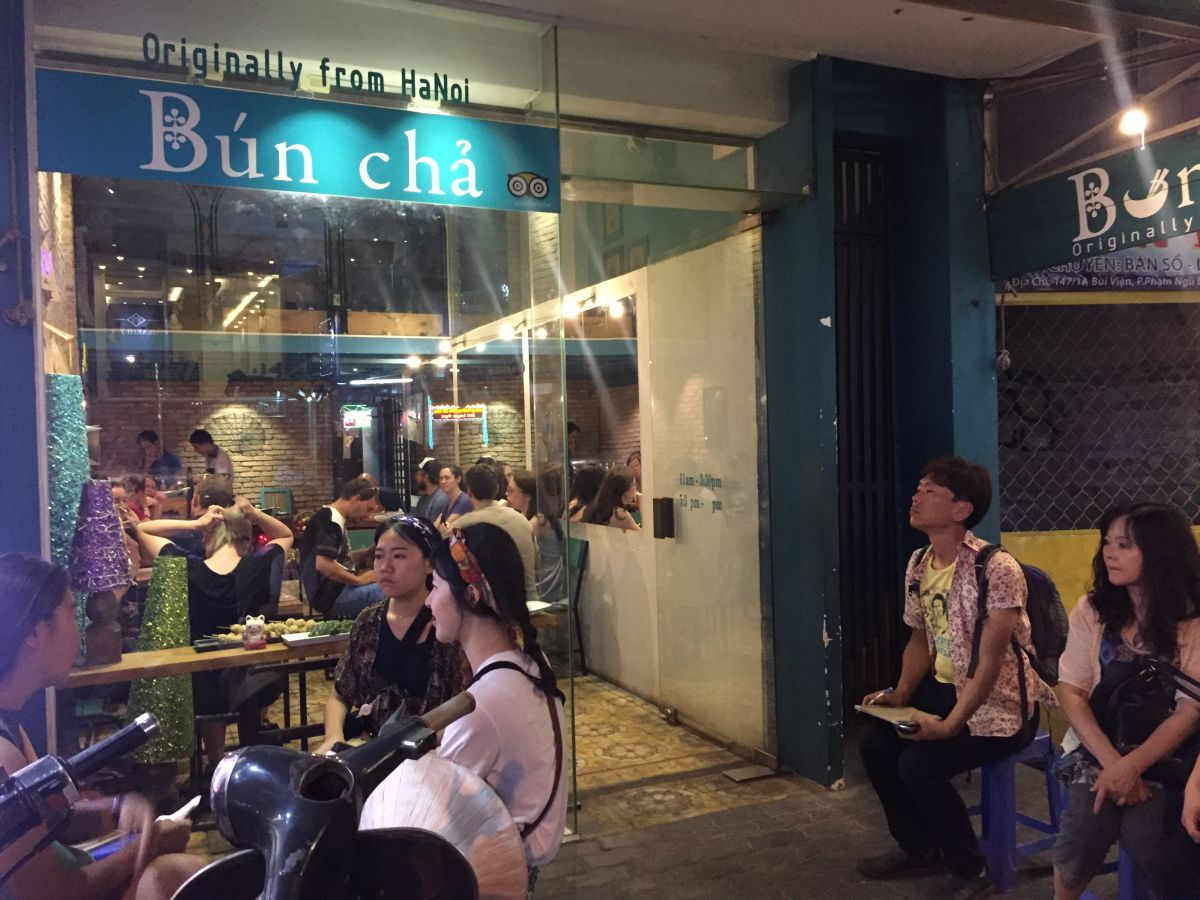 Best Restaurants In Ho Chi Minh City: Bun Cha