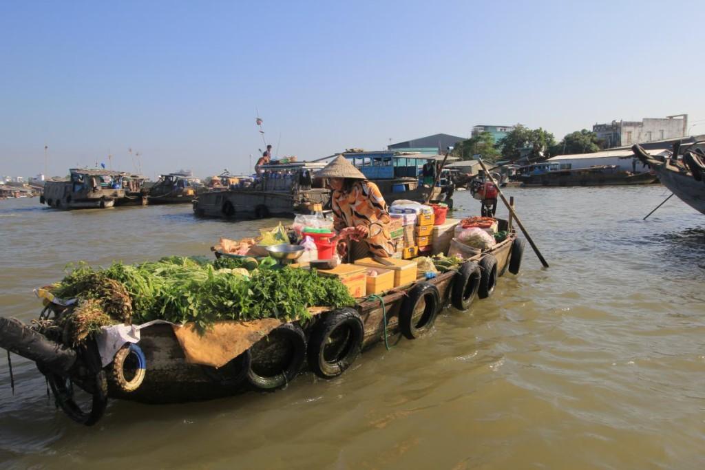 Mekong Delta Tour - Floating Market