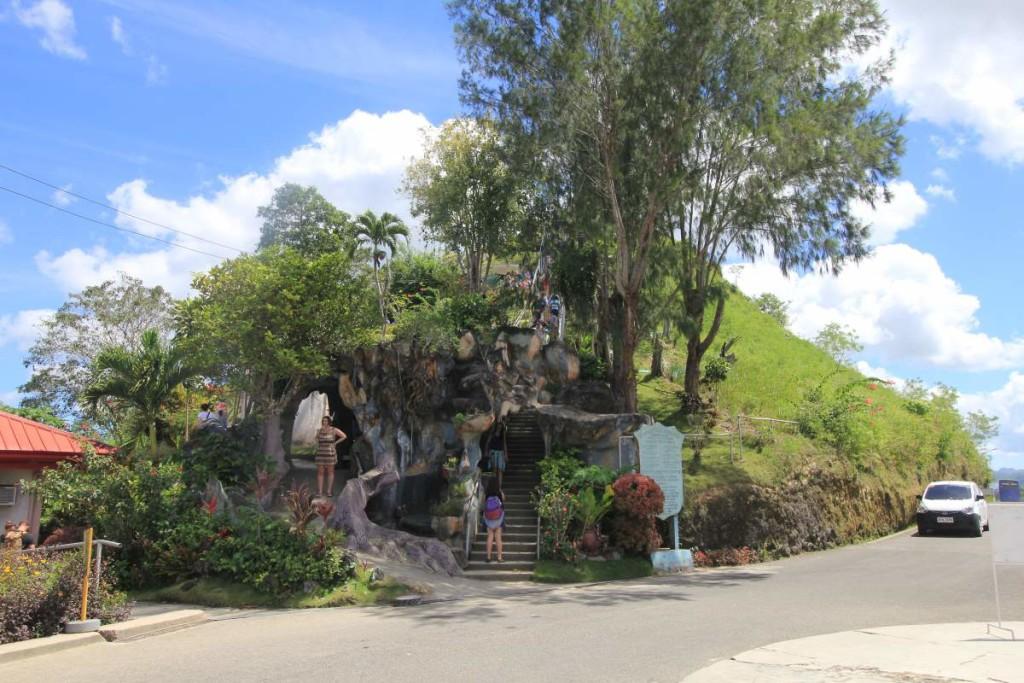 bohol countryside tour - chocolate hills entrance