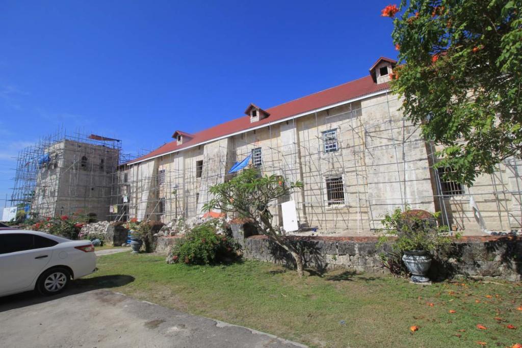 bohol countryside tour - church 2