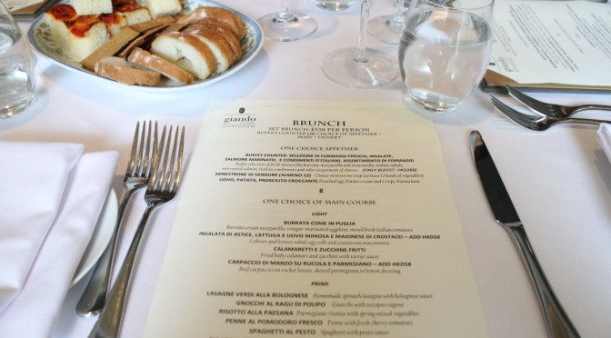 Brunch At Giando: A Great-Value & Authentic Italian Feast