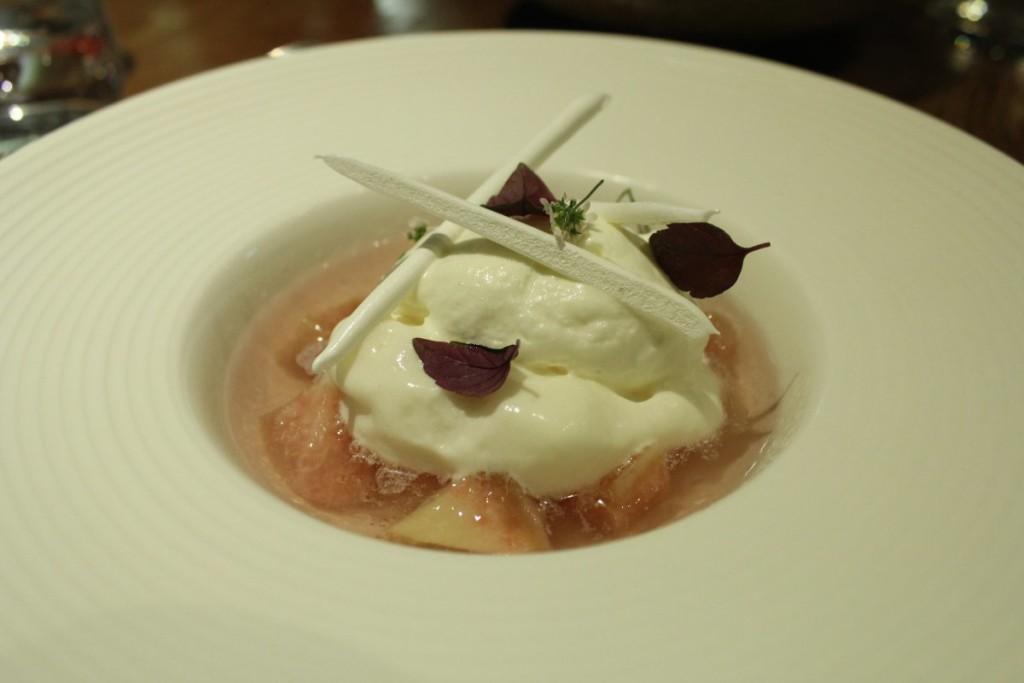figaro - Poached White Peach, Lemongrass Sorbet