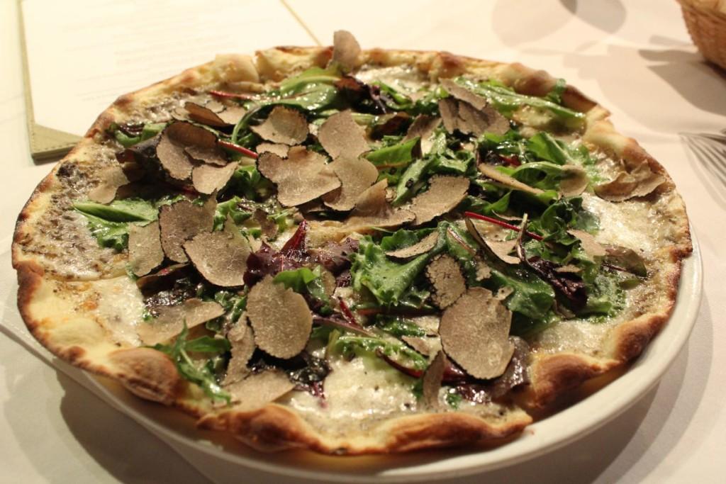 gia trattoria - truffle pizza
