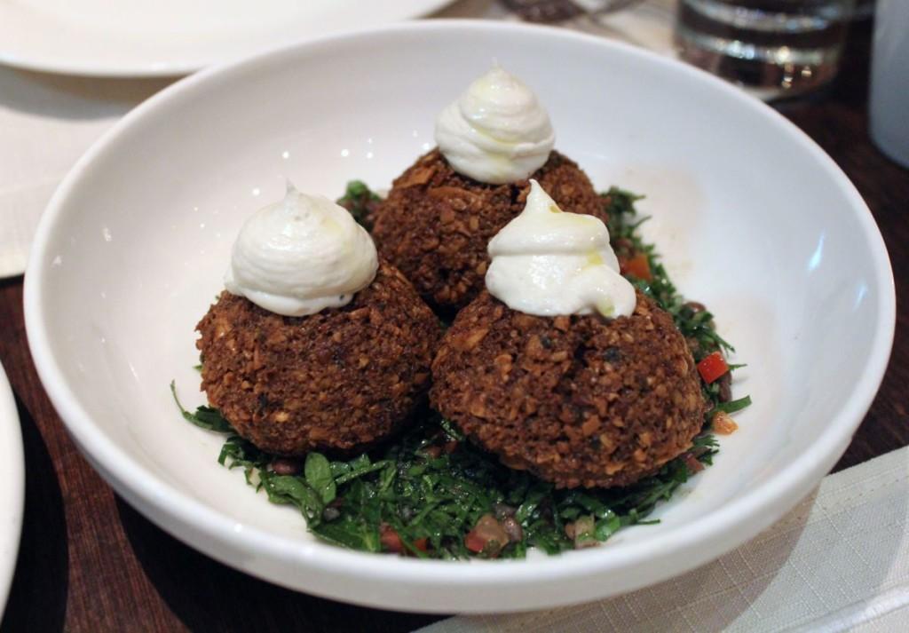 olive - falafel