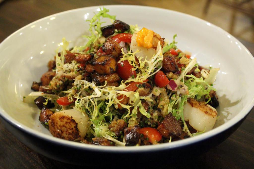 reinventing salads - linguini fini