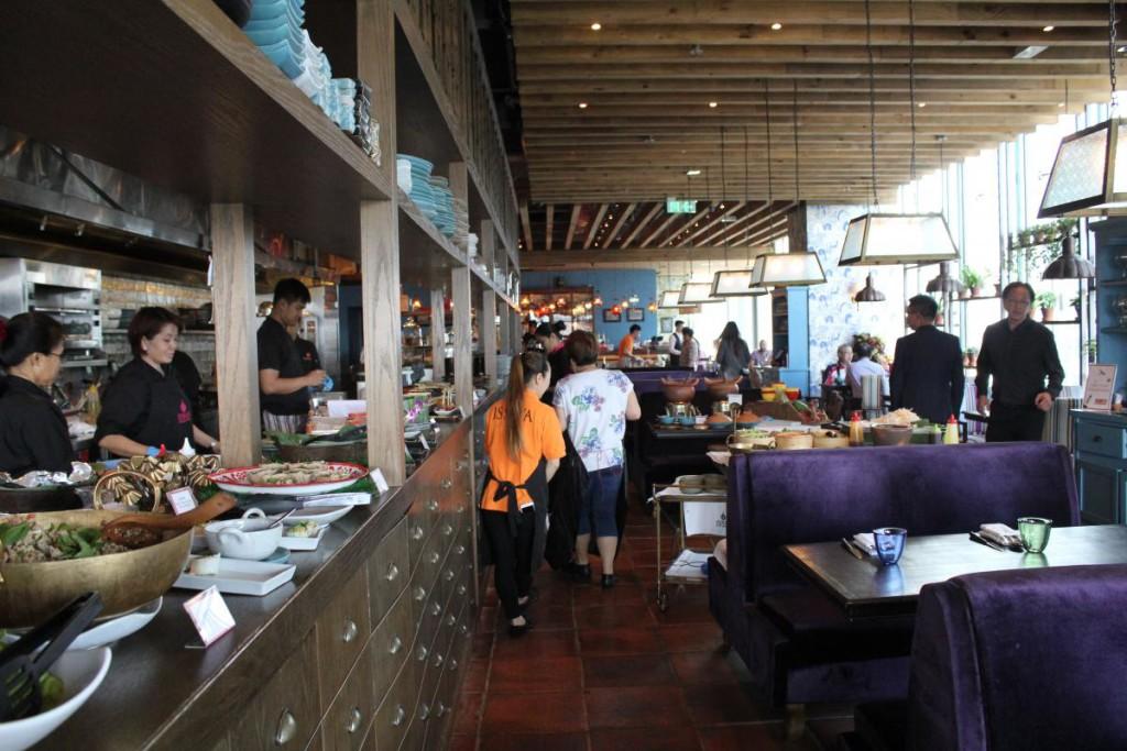 Issaya Siamese Club Hong Kong - interior