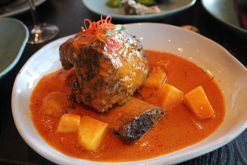 Issaya Siamese Club Hong Kong - lamb curry