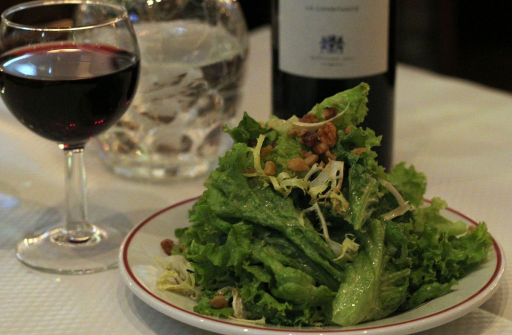 le Relais de l'Entrecôte Hong Kong - salad
