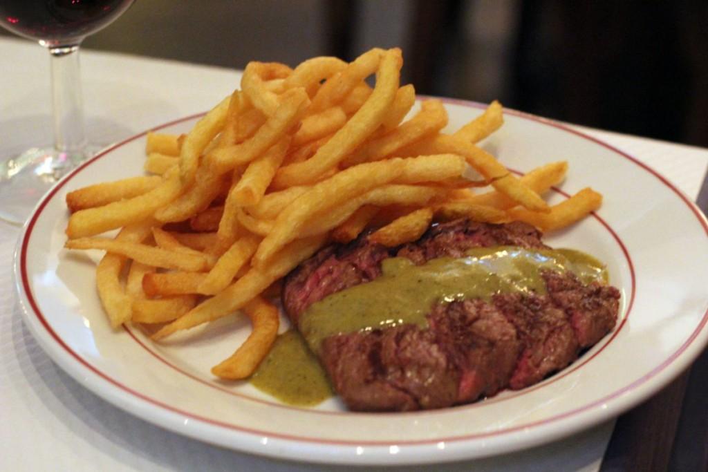 le Relais de l'Entrecôte Hong Kong - steak frites