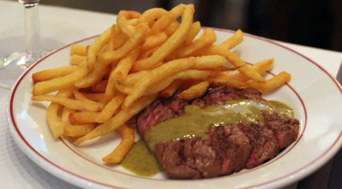 le Relais de l'Entrecôte Hong Kong: Simple Steak Frites
