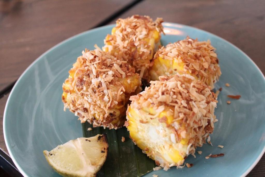 limewood - coconut corn