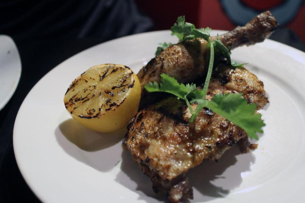 flaming frango - quarter chicken and thigh