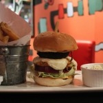 flaming frango - burger