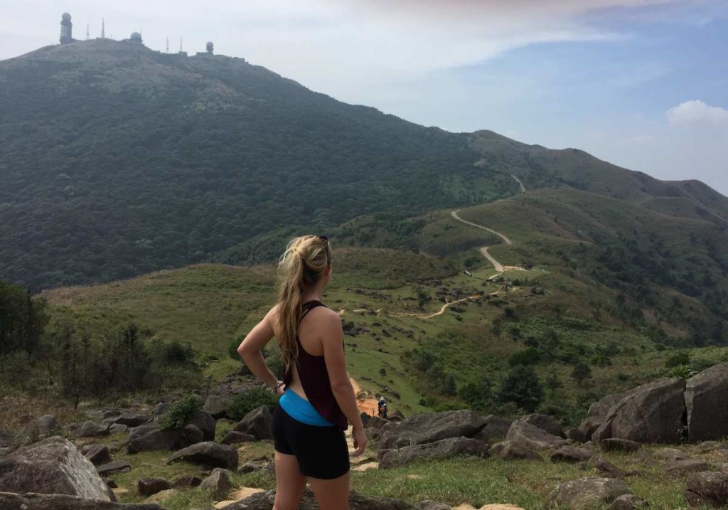MacLehose Stage 8; Tai Mo Shan in the distance