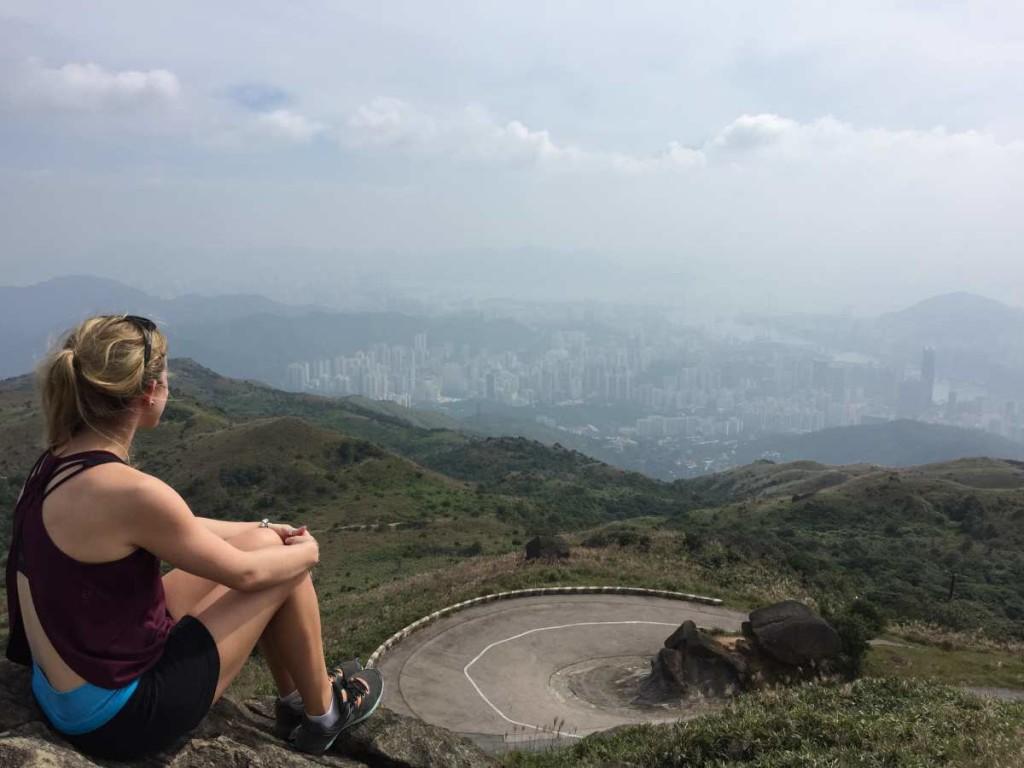 View at the top of Tai Mo Shan
