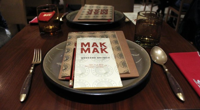 Mak Mak Brunch: Unlimited Thai Food & Drink