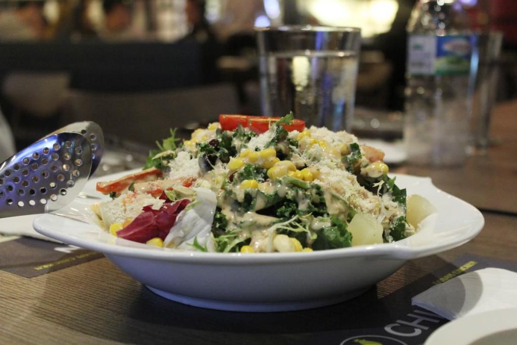 dodam chicken - salad