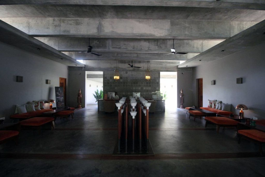 templation hotel siem reap - lobby