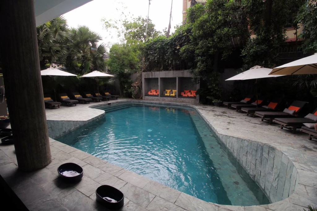 rambutan resort phnom penh - pool