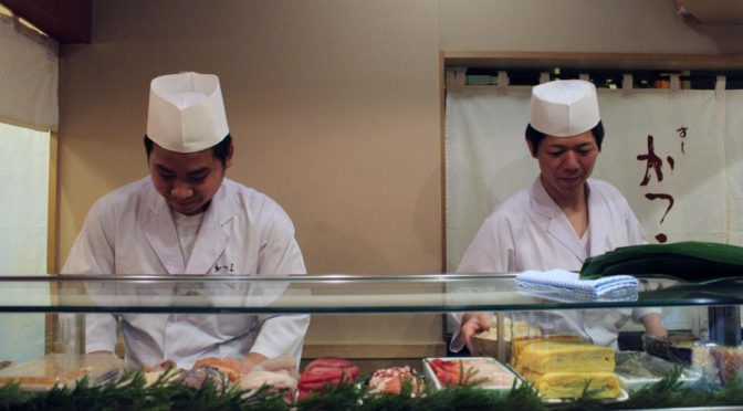Sushi Katsura: Where you should be eating at the Tsukiji Fish Market