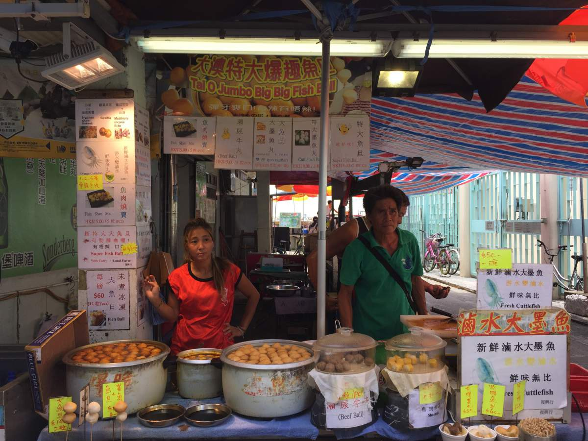 Image result for jumbo fish balls tai o