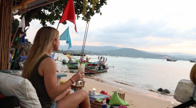 Koh Samui Night Market Tour: Sunset drinks & local Thai food